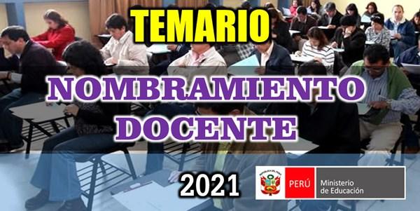 Teamrio para Nombramiento Docente 2021