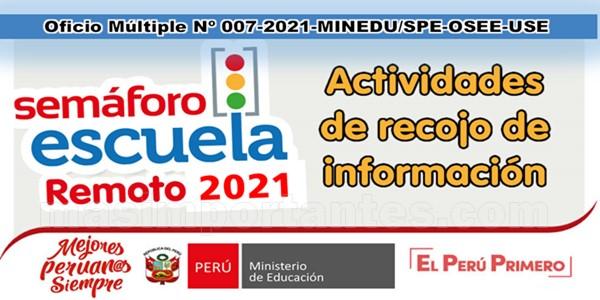 Semáforo Escuela 2021