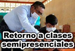 Retorno a las clases semipresenciales